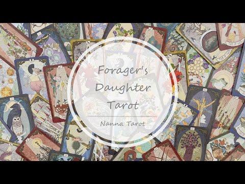 開箱  覓食者塔羅牌 • Forager's Daughter Tarot // Nanna Tarot