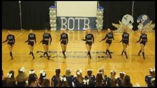 NHHS Varsity Dance Team Battle of the Bay Rally 2015