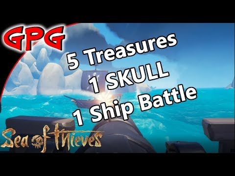 Sea of Thieves E10 - Five Treasures, One Skull and a Ship Battle - WOLF