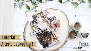 Alter a packaging with me | Fantasy Dies | Aola DIY