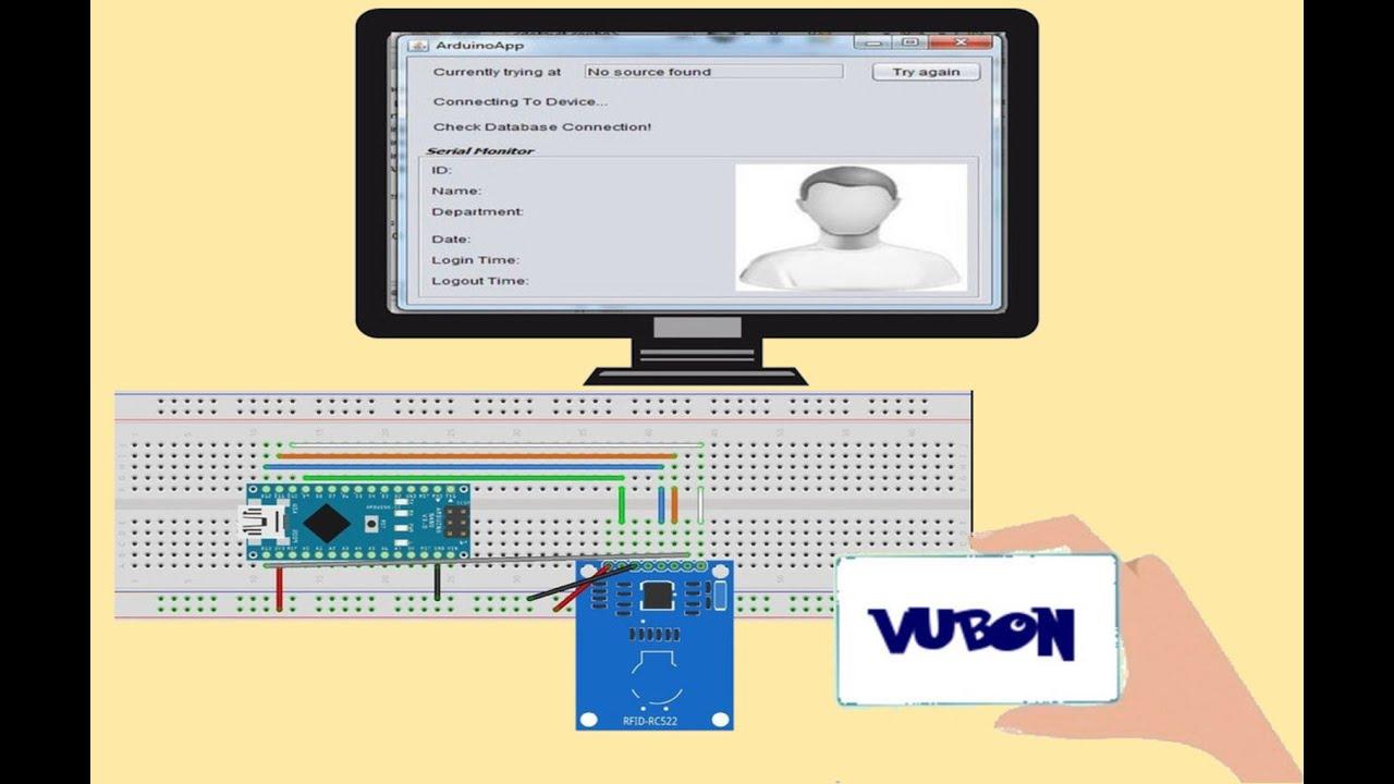 Java App + Arduino RFID Employee Logger