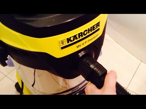 cleaning without dustbag karcher mv 6 p premium 4 of 6 youtube. Black Bedroom Furniture Sets. Home Design Ideas