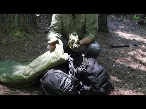 Black Scout Tutorials - Building a Bargain Bugout Bag-Shelte