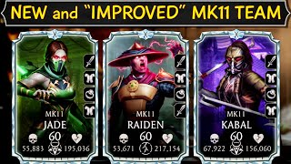 MK Mobile. Diamond Gold MK11 Team Gameplay. What Changed After They Became Diamond.