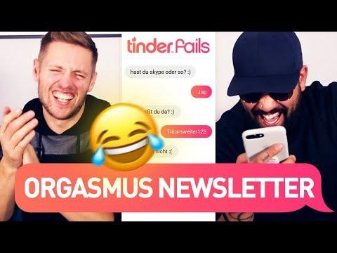 Der Snapchat-Orgasmus-Newsletter | TINDER FAILS
