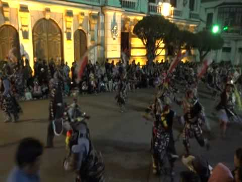 Tchinchon Express au défilé de la Virgen de Guadalupe à Sucre