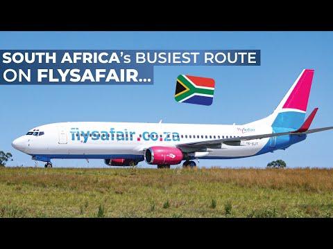 TRIPREPORT | FlySafair.com (Economy) | Cape Town - Johannesburg | Boeing 737-800