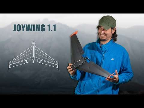 I made an RC flying wing | Joywing 1.1 an improved version