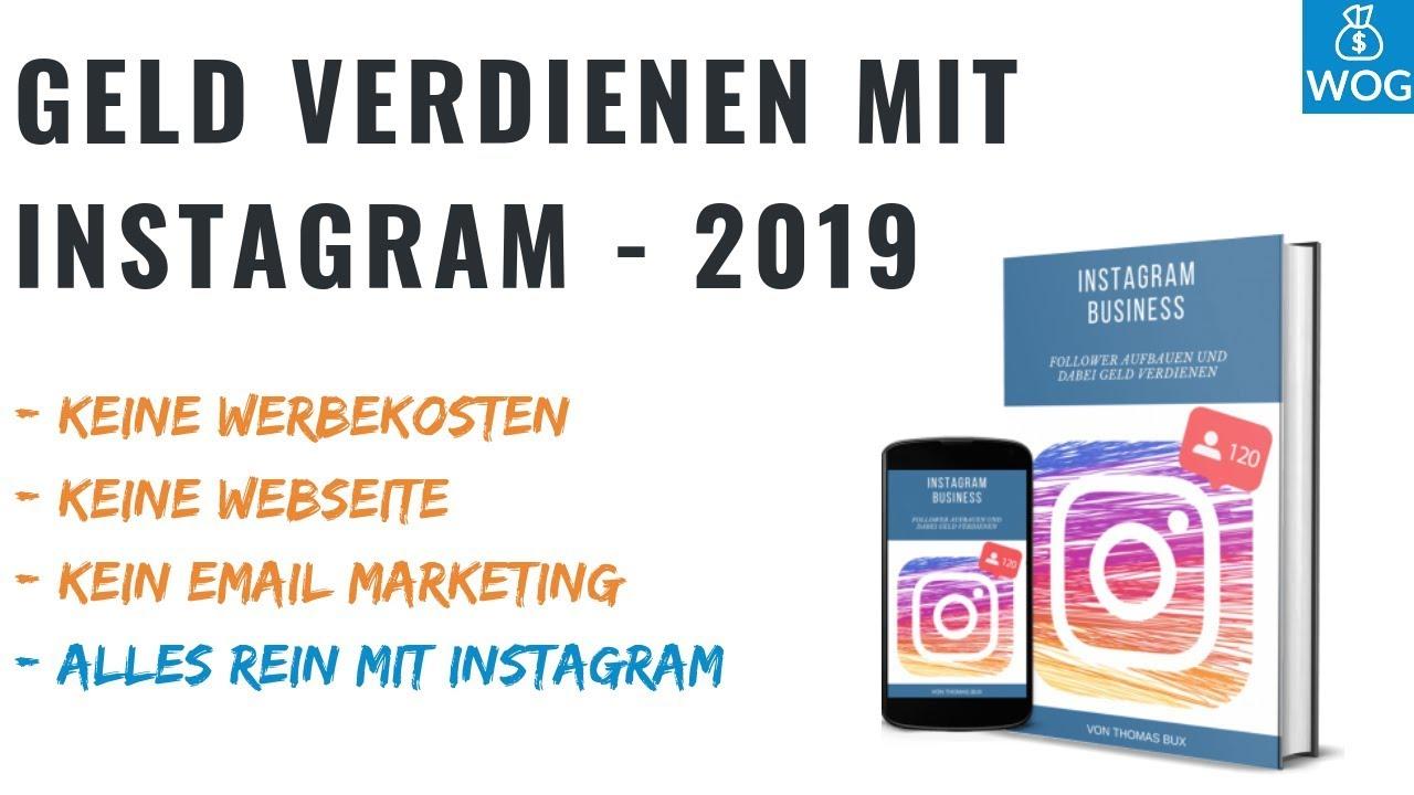 Durch Instagram Geld Verdienen