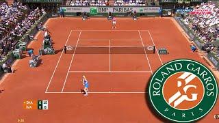 Tennis Elbow 2014 - Roland Garros 2016 - Maria Sharapova vs Ana Ivanovic GAMEPLAY