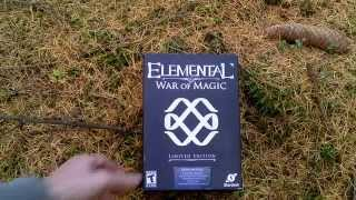Elemental War of Magic Limited Edition Unboxing (PC) ENGLISH