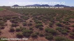 81+ Acres on paved rd with great views of Elfrida, AZ - Sold