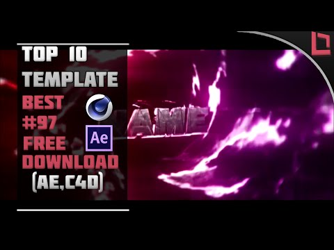 BEST] Top 10 Intro Template #97 (C4D,AE) + Free Download - YouTube