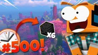 """Minecraft #500! - """"Najdłuższy odcinek w historii!"""""""