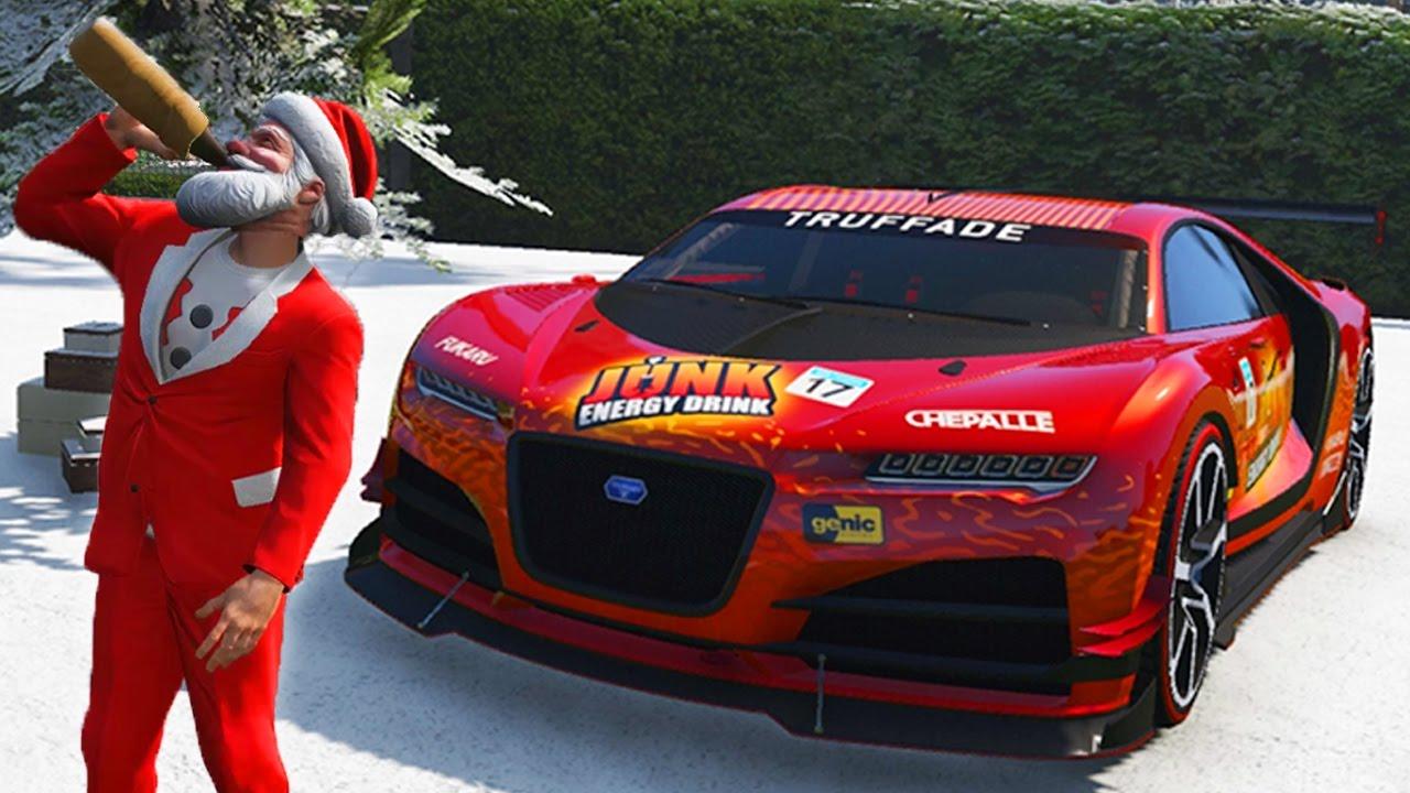 GTA 5 ONLINE CHRISTMAS DLC 2016 UPDATE SPENDING SPREE! NEW ...