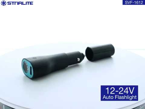 Car new small rechargeable handy size strong light 10 hours light runtime power bank LED torch
