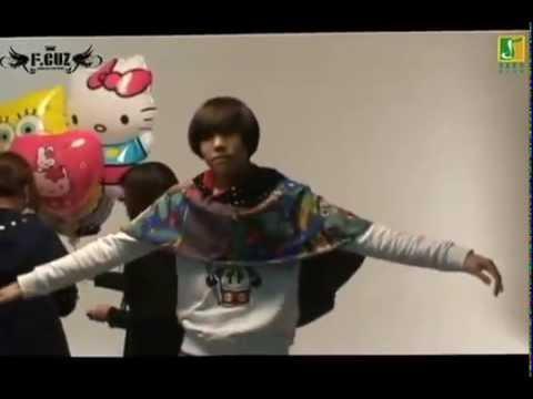"""F.CUZ dances T-Ara """"Yayaya"""""""