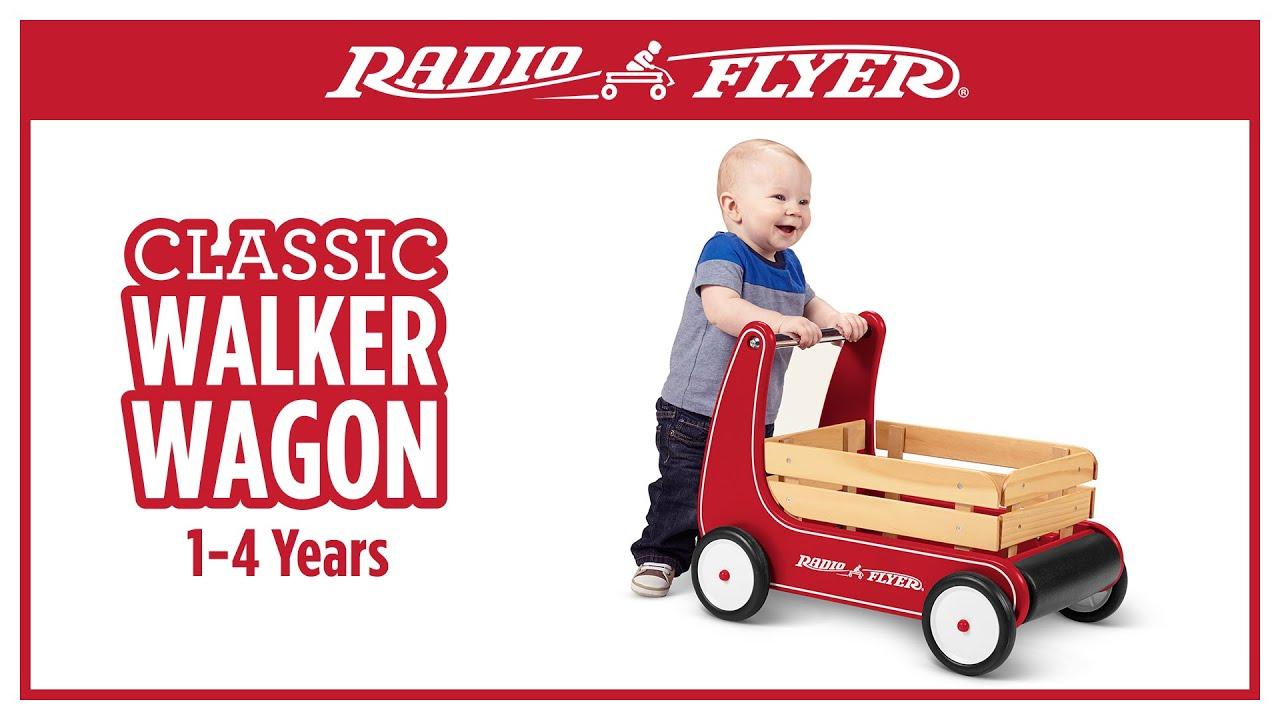 Radio Flyer Classic Walker Wagon Youtube