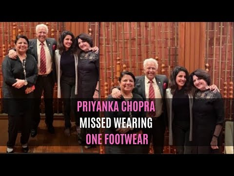 Did Priyanka Chopra Just Miss Wearing One Footwear While Posing For A Family Picture? Mp3