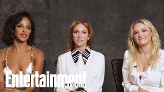 Emily Osment Brittany Snow amp Megalyn Echikunwoke On New Show 39Almost Family39  Entertainment Weekly