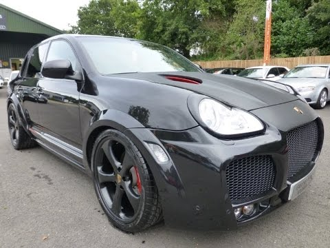 Porsche Cayenne Turbo S Techart Magnum For Sale At George Kingsley