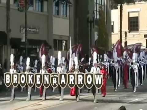 The Pride of Broken Arrow High School Marching Band - 2009 Pasadena Rose Parade