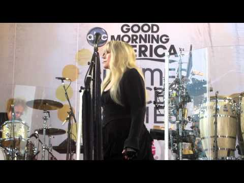 Stevie Nicks - Landslide and For What It's Worth Rehearsal for GMA 8/26/2011