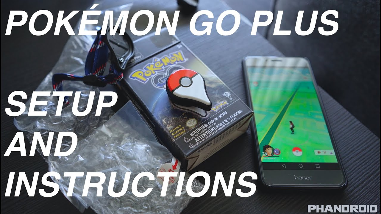pokemon go plus instructions