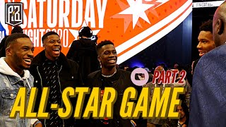 Thanasis, Giannis, Kostas & Alex at the DUNK CONTEST! |  All Star Weekend 2020 Vlog: Pt 2