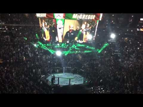 Conor McGregor UFC 205 walkout entrance