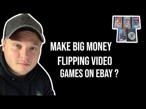 Make Money Flipping Video Games On Ebay ?