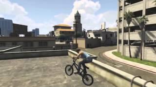 Трюки в GTA 5 на BMX