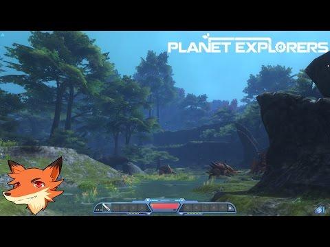 Planet Explorers #1/3 -  Survivre sur une planète hostile en solo ou coop !    P&G/4K[FR]
