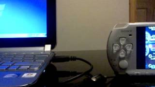 How to charge a Sony Psp 3000 through a usb