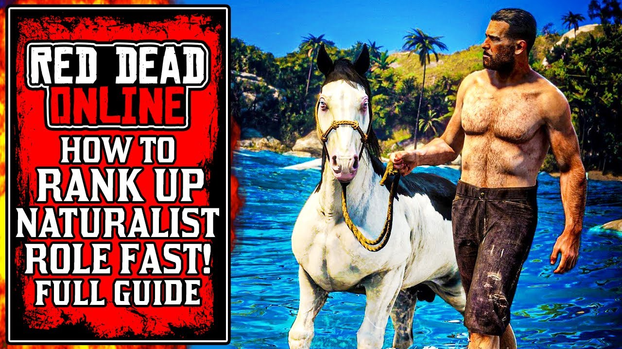 The ULTIMATE Guide How to Rank Up Naturalist Role Fast in Red Dead Online (RDR2)