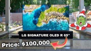 LG SIGNATURE OLED R 65'' Rolla…
