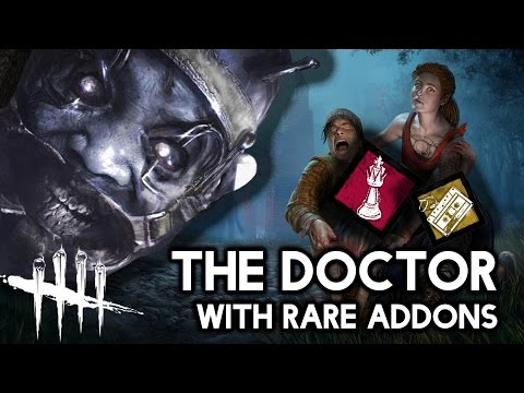 Ultra Rare Doctor Addon | Dead by Daylight New Killler [Gameplay / Commentary]