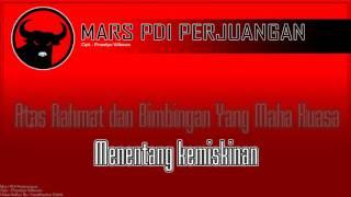 Mars PDI Perjuangan + Lirik