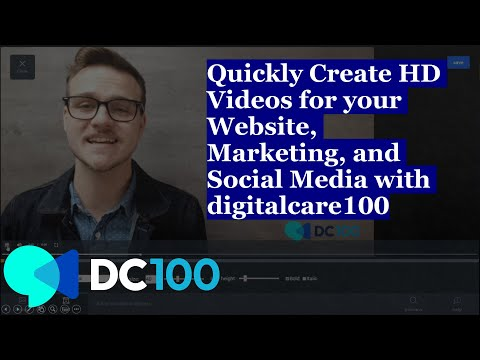 Quickly Create Videos for your Website, Marketing, and Social Media