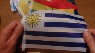ASMR - Football World Cup Flags - Australian Accent - Describing Each Flag in a Quiet Whisper