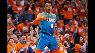 Russell Westbrook Took It To Damian Lillard In Game 3