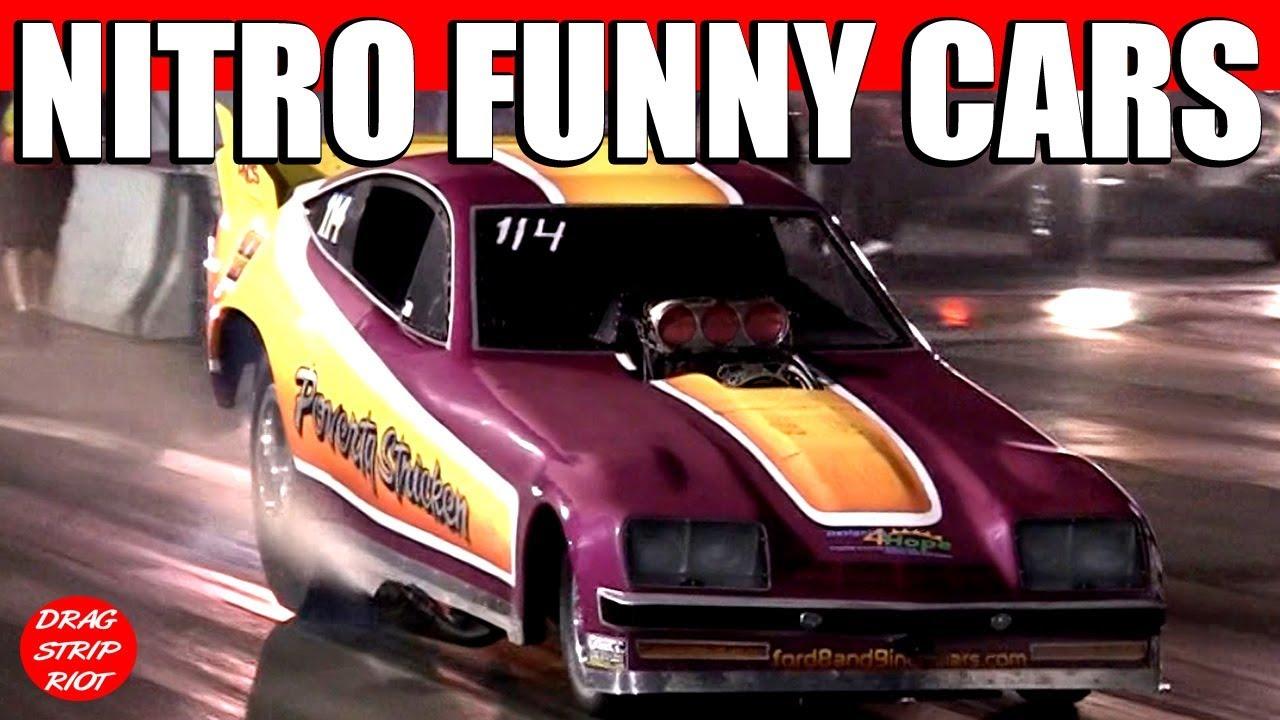 2012 Nitro Funny Car Drag Racing Burnouts Funny Cars Under