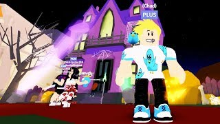I only Screamed Twice! MeepCity Haunted Mansion in Roblox