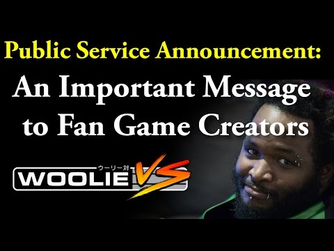 PSA: A Message to Unofficial Fan Game Creators