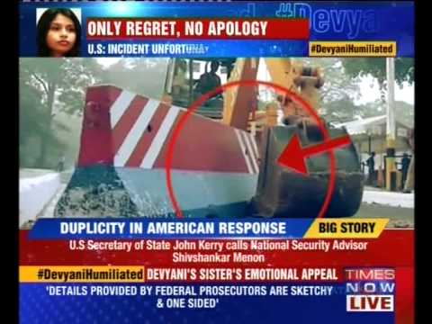 John Kerry voices regret over Devyani Khobragade's humiliation