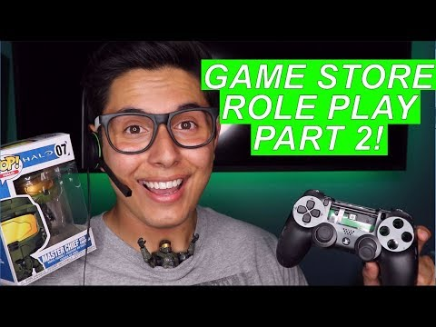 [ASMR] Game Store Role Play Part 2! (More Games! More Tingles!)