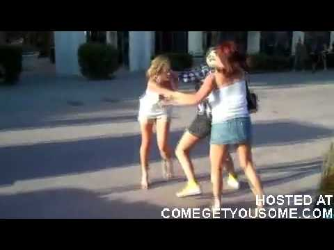GIRL FIGHT!!!Wigs, boobs, and yellow shoes ComeGetYouSome