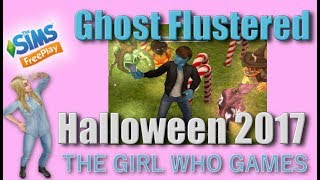 The Sims Freeplay- Ghost Flustered Halloween 2017 Quest
