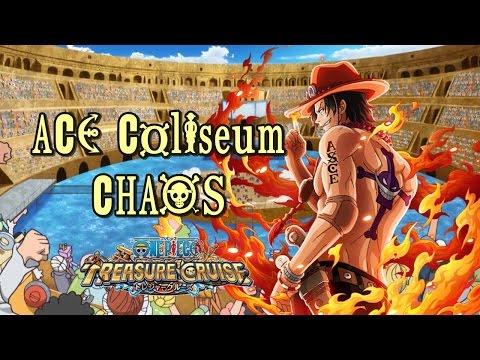 One Piece Treasure Cruise | Ace Coliseum CHAOS completo