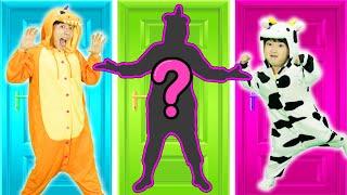 동물 그림자 맞추기 퍼즐 게임! Wrong Animals Shadow Puzzle and Children Dance! - 마슈토이 Mashu ToysReview
